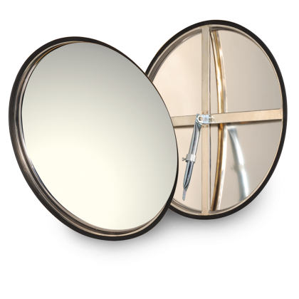 Indoor Stainless Steel Convex Mirror 600MM