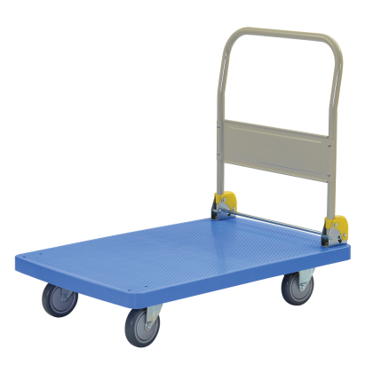 KOMADA Foldable Handle PVC Platform Trolley 200/350KGS